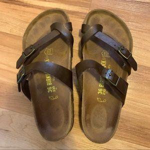 Birkenstock Bronze Mayari Sandals